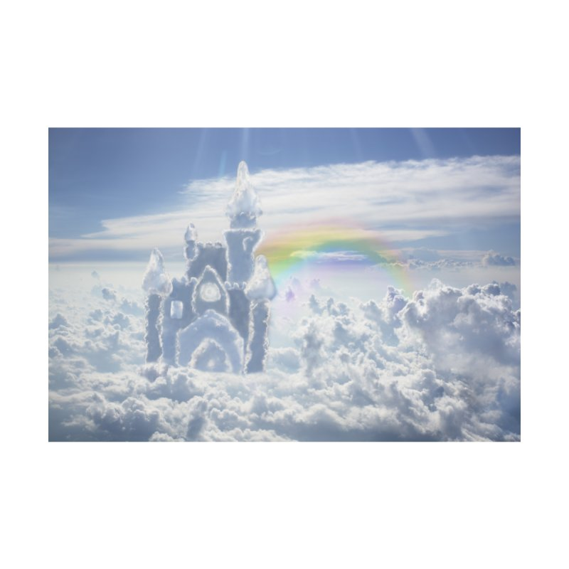 Clouds Part Two : Castles In The Sky Home Mounted Aluminum Print by Jelly Designs