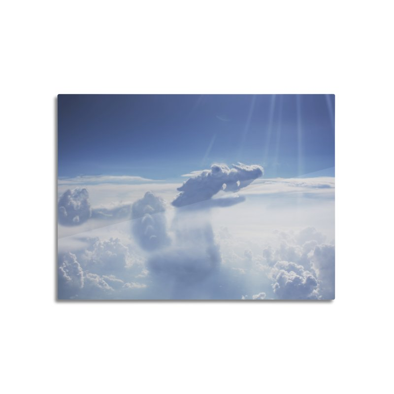 Clouds Part 4 : Dragon Home Mounted Aluminum Print by Jelly Designs