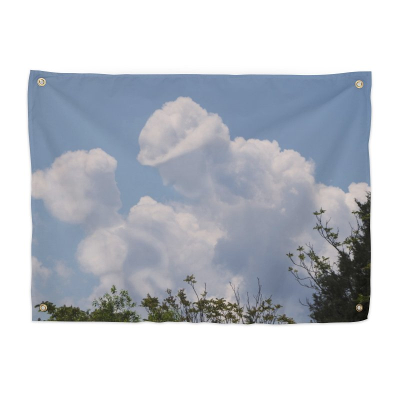 Clouds Part Five : Lovers Home Tapestry by Jelly Designs