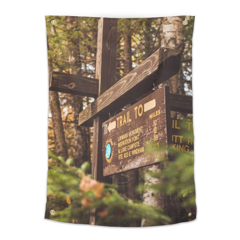 Where To? Home Tapestry by Jelly Designs