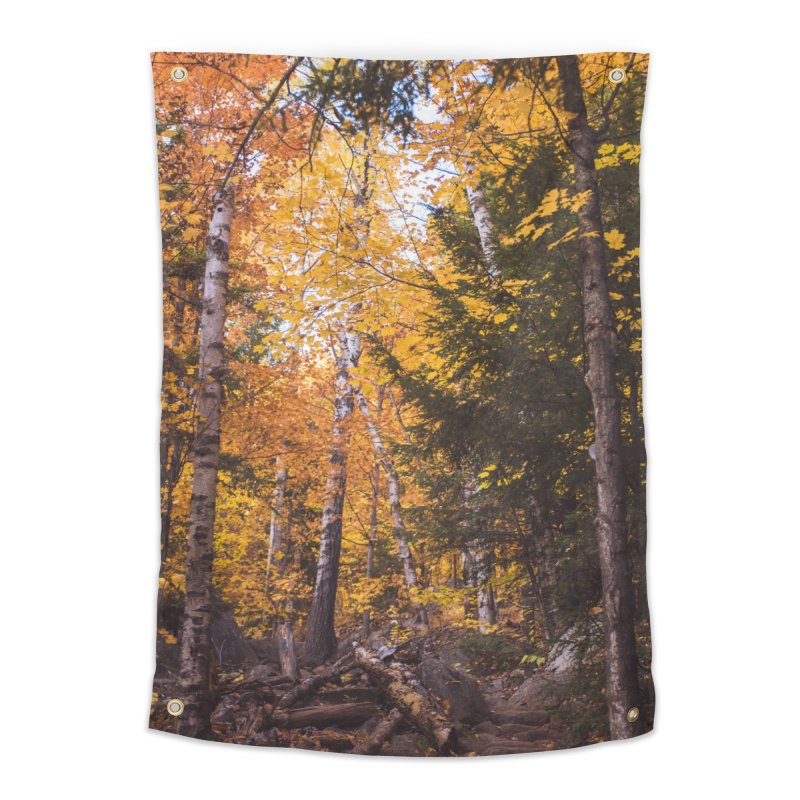 Birch Forest Home Tapestry by Jelly Designs