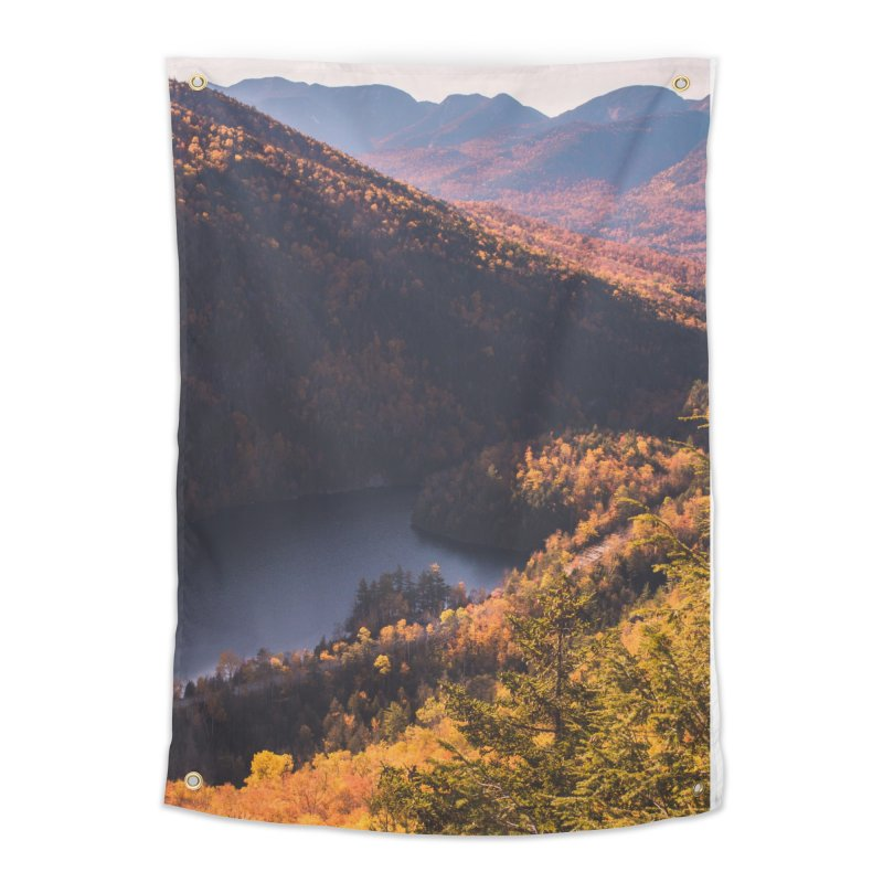 Giant Mountain Home Tapestry by Jelly Designs