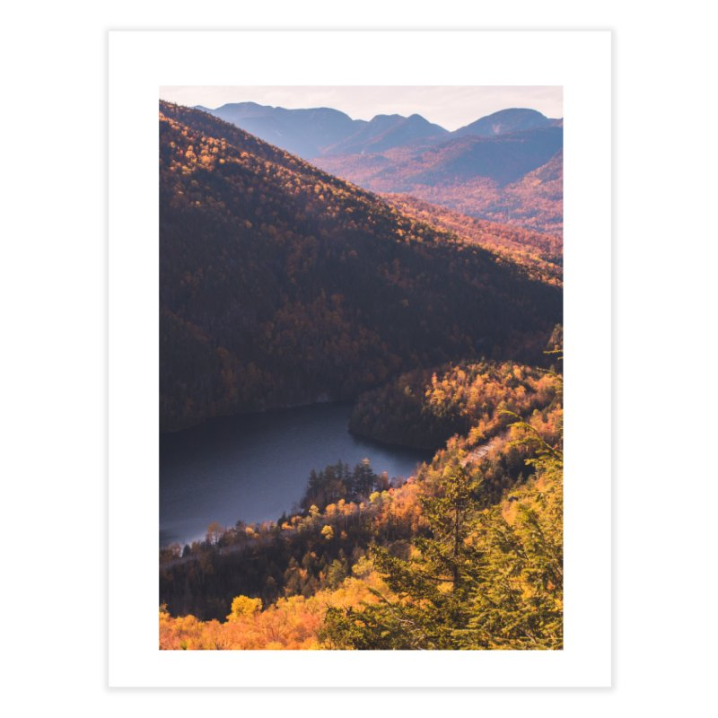 Giant Mountain Home Fine Art Print by Jelly Designs