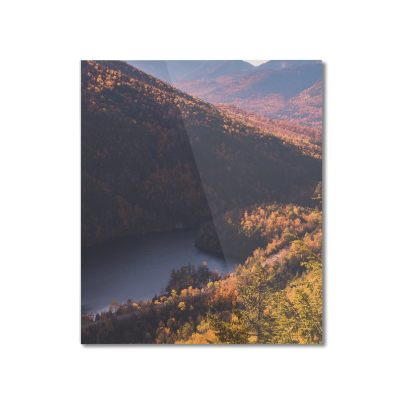 Giant Mountain Home Mounted Aluminum Print by Jelly Designs