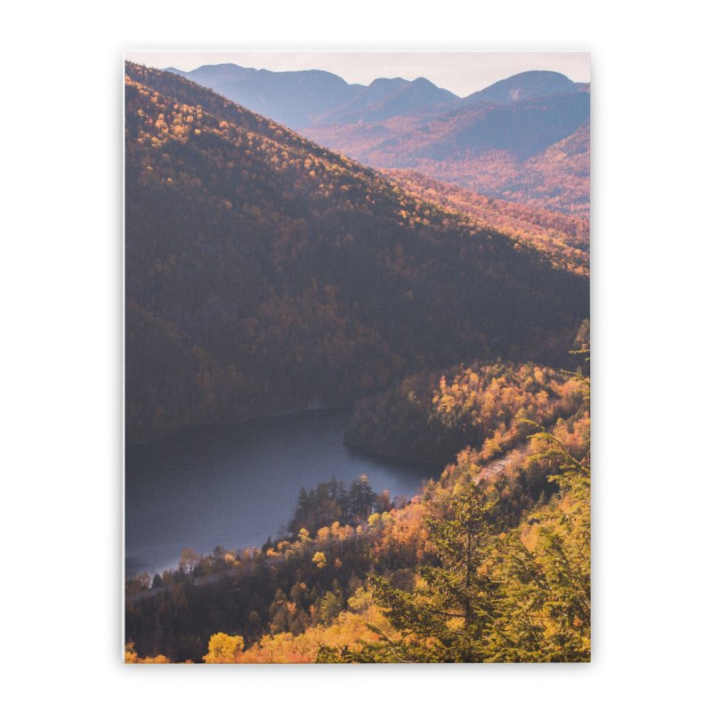 Giant Mountain Home Stretched Canvas by Jelly Designs