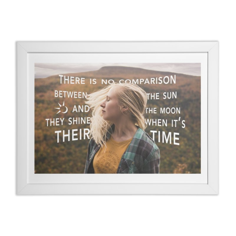 Their Time Home Framed Fine Art Print by Jelly Designs