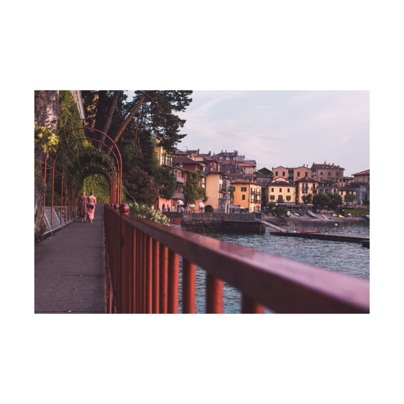 Strolling Along Lake Como Accessories Magnet by Jelly Designs
