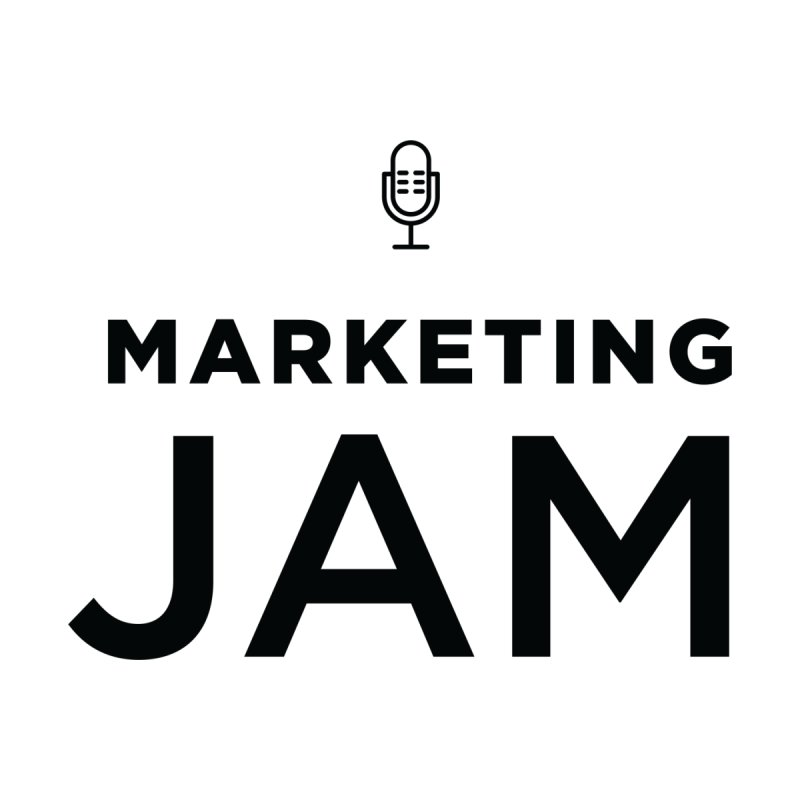 Marketing Jam Logo Shirt Men's T-Shirt by Jelly Marketing & PR