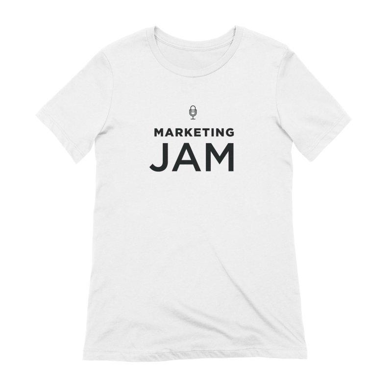 Marketing Jam Logo Shirt Women's Extra Soft T-Shirt by Jelly Marketing & PR