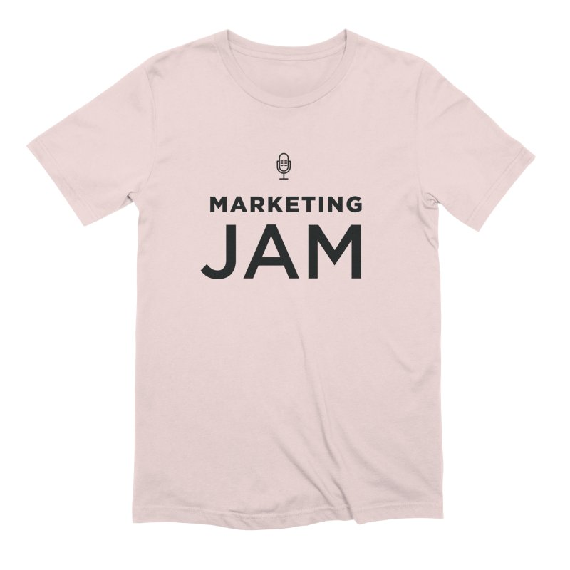 Marketing Jam Logo Shirt Men's T-Shirt by Jelly Marketing & PR