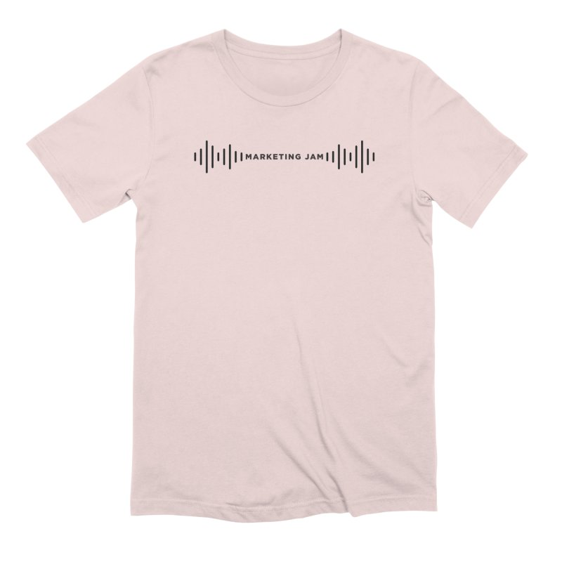 Marketing Jam Soundwaves Shirt Men's T-Shirt by Jelly Marketing & PR