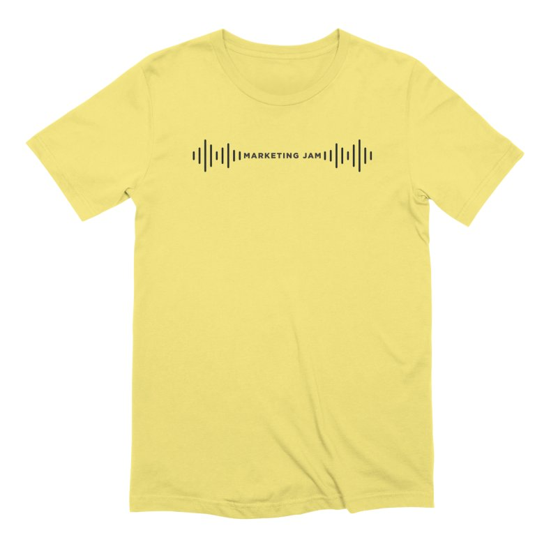 Marketing Jam Soundwaves Shirt Men's T-Shirt by Jelly Marketing & PR