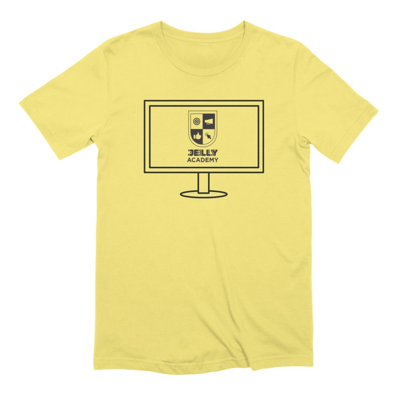 Jelly Academy Computer Shirt Men's T-Shirt by Jelly Marketing & PR