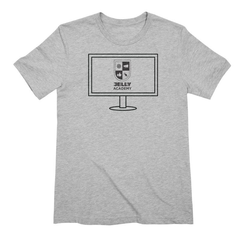 Jelly Academy Computer Shirt Men's T-Shirt by Jelly Marketing & PR