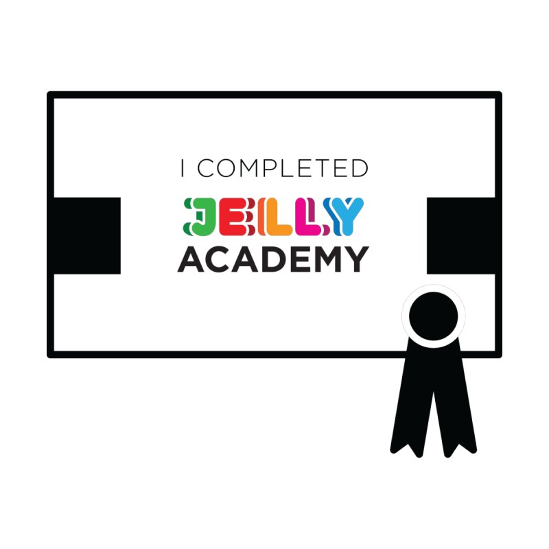 Jelly Academy Certificate Shirt Men's T-Shirt by Jelly Marketing & PR