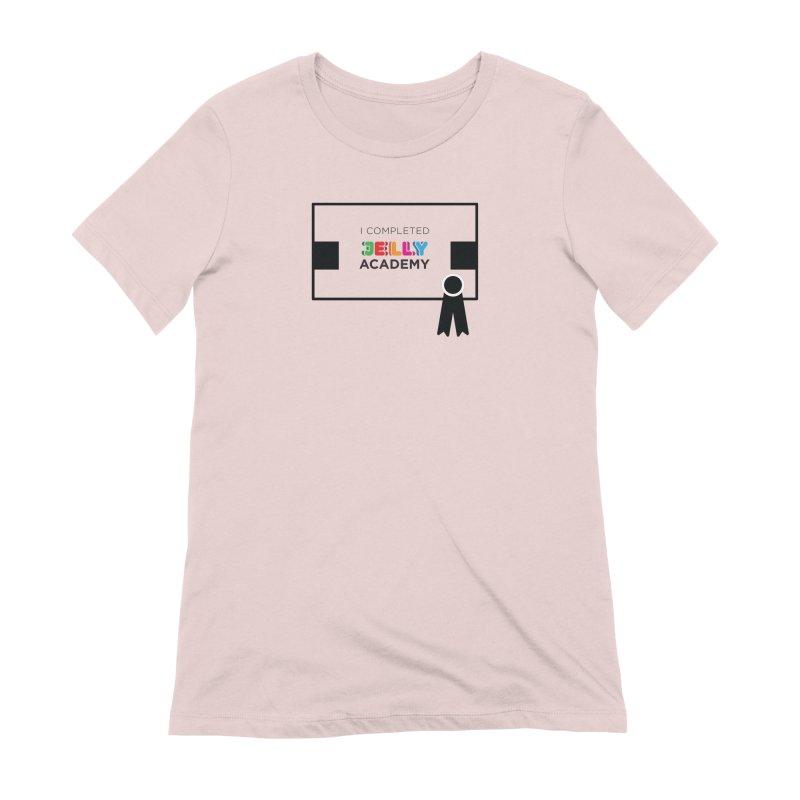 Jelly Academy Certificate Shirt Women's Extra Soft T-Shirt by Jelly Marketing & PR