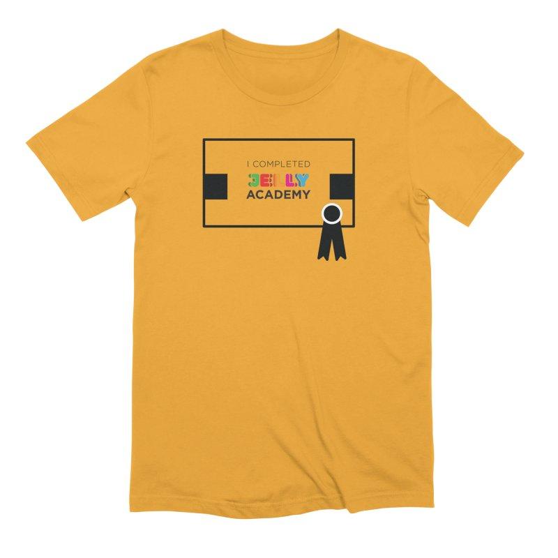 Jelly Academy Certificate Shirt Men's T-Shirt by Jelly Marketing & PR