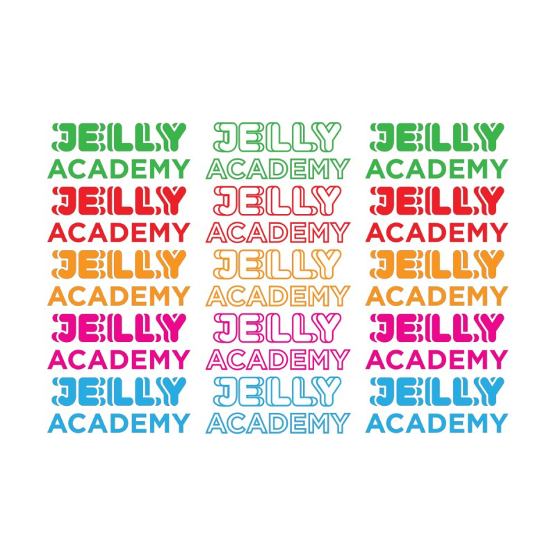 Jelly Academy Rainbow Shirt Men's T-Shirt by Jelly Marketing & PR