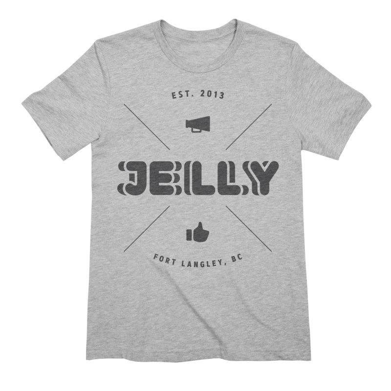 Jelly Marketing Compass Shirt Men's Extra Soft T-Shirt by Jelly Marketing & PR