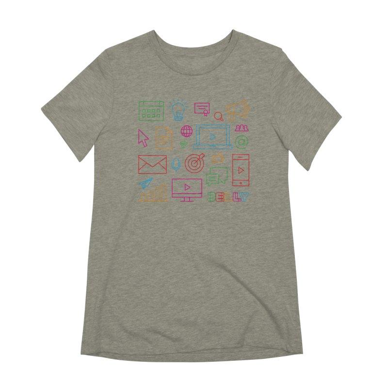 Jelly Marketing Icon Shirt Women's T-Shirt by Jelly Marketing & PR