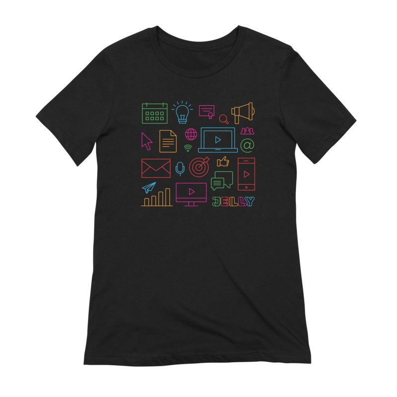Jelly Marketing Icon Shirt Women's T-Shirt by Jelly Marketing & PR