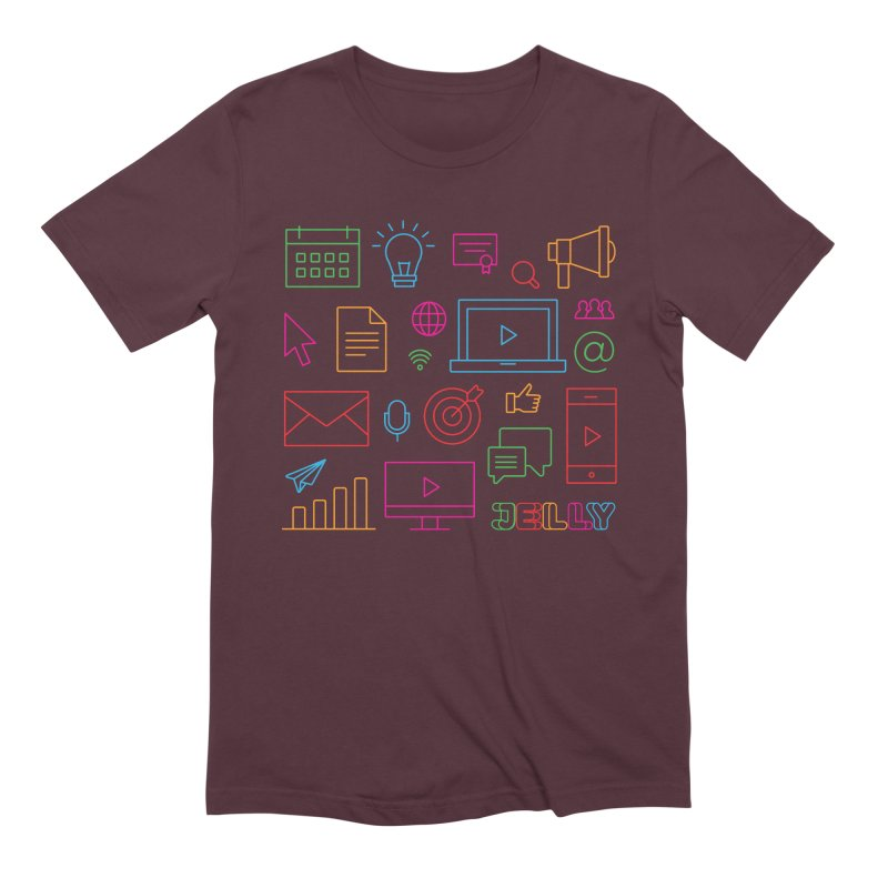 Jelly Marketing Icon Shirt Men's T-Shirt by Jelly Marketing & PR