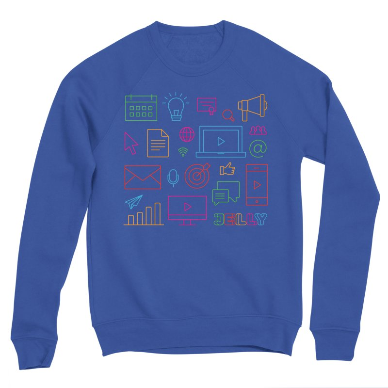 Jelly Marketing Icon Shirt Women's Sweatshirt by Jelly Marketing & PR