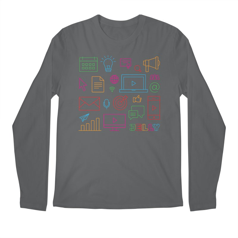 Jelly Marketing Icon Shirt Men's Longsleeve T-Shirt by Jelly Marketing & PR