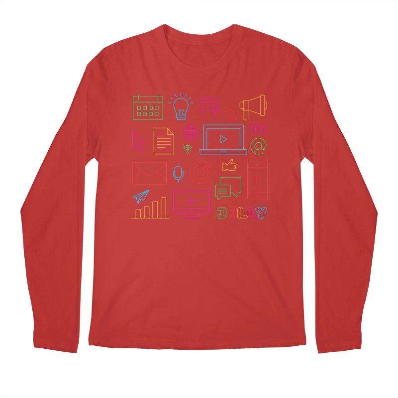 Jelly Marketing Icon Shirt Men's Longsleeve T-Shirt by Jelly Marketing & PR