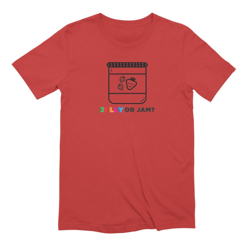 JELLY or JAM Shirt Men's Extra Soft T-Shirt by Jelly Marketing & PR