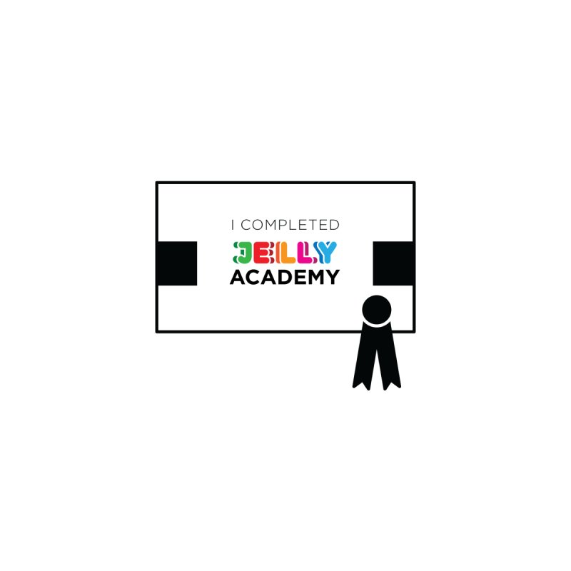 Jelly Academy Certificate Accessories Magnet by Jelly Marketing & PR