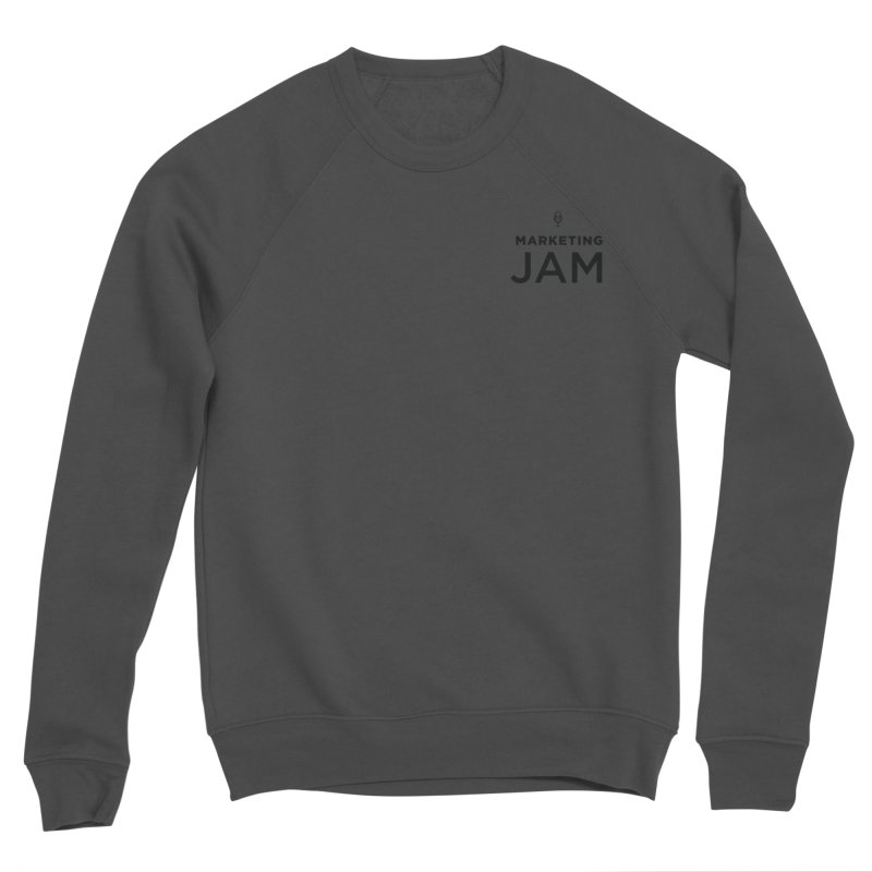 Marketing Jam Logo Men's Sponge Fleece Sweatshirt by Jelly Marketing & PR