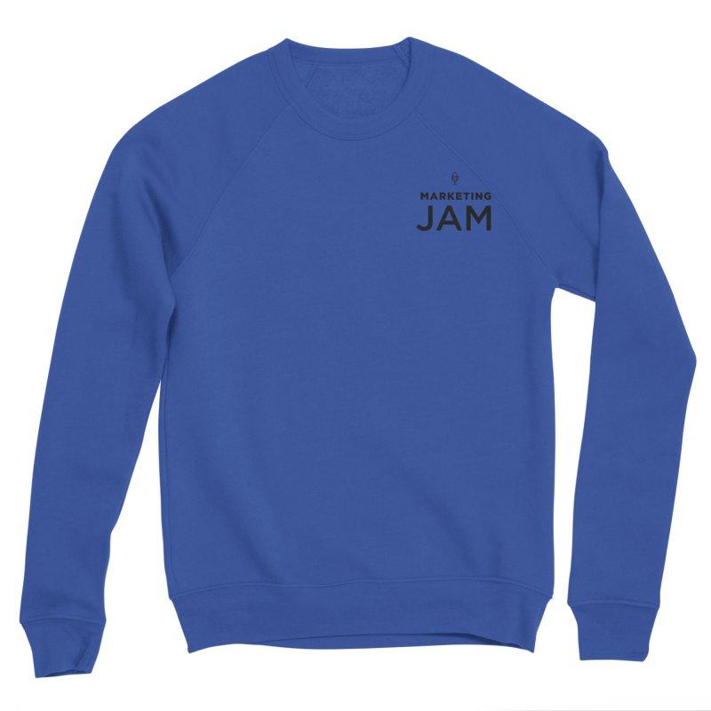 Marketing Jam Logo Men's Sweatshirt by Jelly Marketing & PR