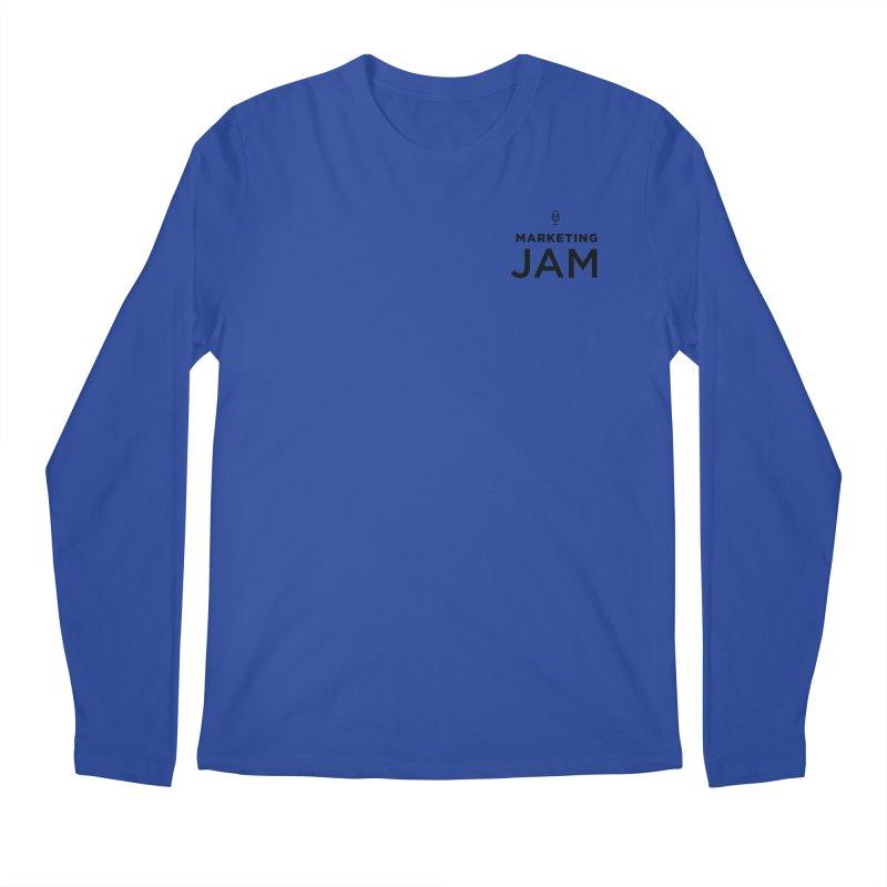 Marketing Jam Logo Men's Regular Longsleeve T-Shirt by Jelly Marketing & PR