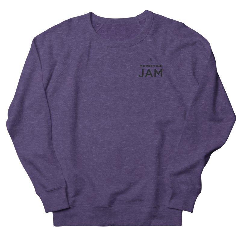 Marketing Jam Logo Women's French Terry Sweatshirt by Jelly Marketing & PR