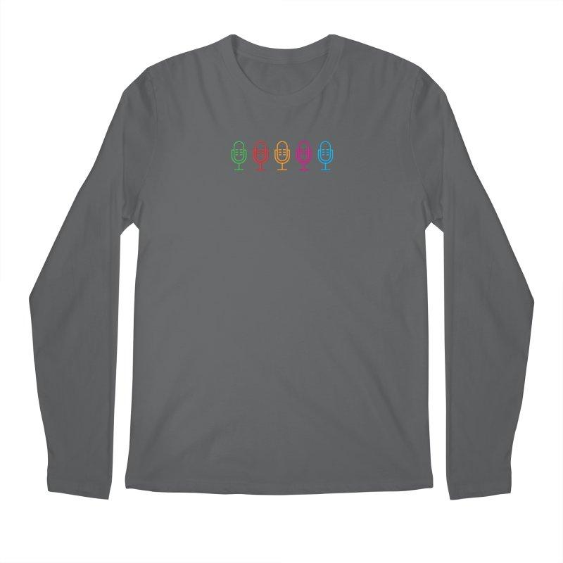 Marketing Jam Microphones Men's Longsleeve T-Shirt by Jelly Marketing & PR
