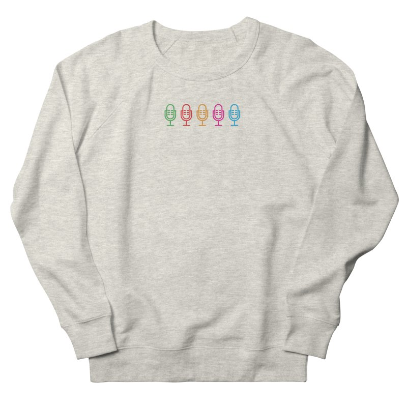 Marketing Jam Microphones Men's French Terry Sweatshirt by Jelly Marketing & PR