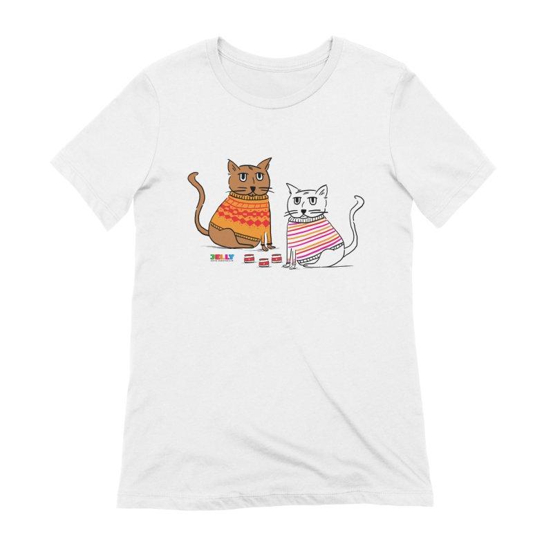 Cozy Cats Women's Extra Soft T-Shirt by Jelly Marketing & PR