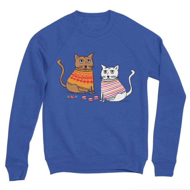 Cozy Cats Men's Sweatshirt by Jelly Marketing & PR