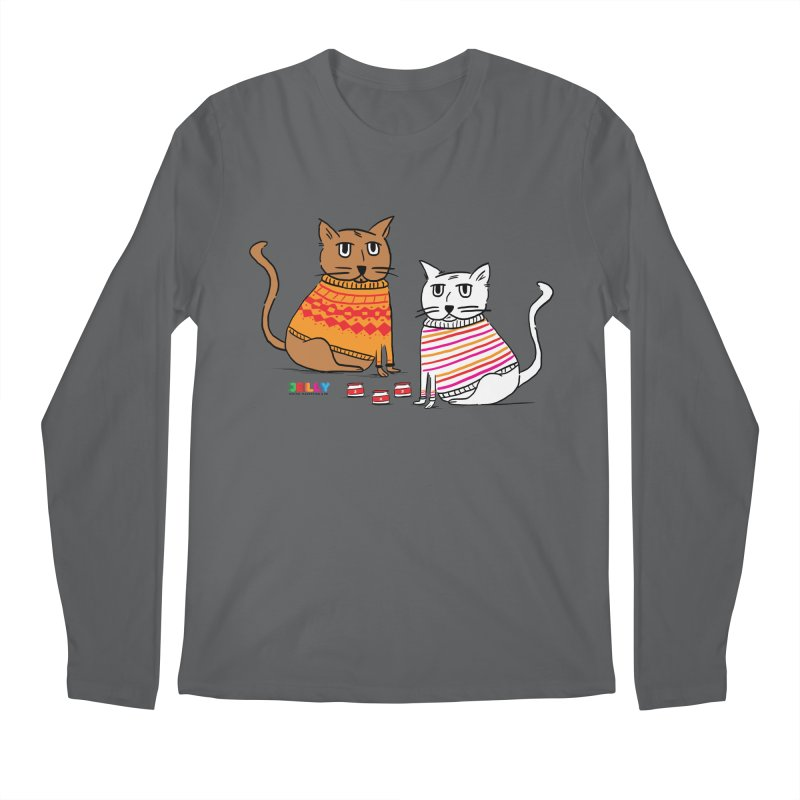 Cozy Cats Men's Longsleeve T-Shirt by Jelly Marketing & PR