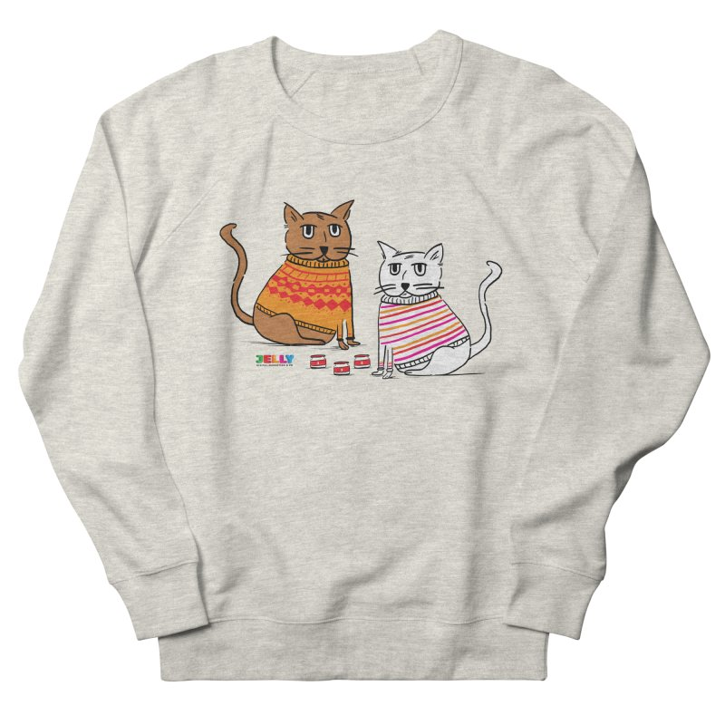 Cozy Cats Men's French Terry Sweatshirt by Jelly Marketing & PR