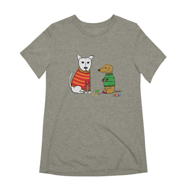 Pampered Pups Women's Extra Soft T-Shirt by Jelly Marketing & PR
