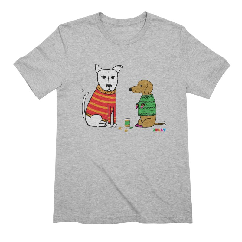 Pampered Pups Men's Extra Soft T-Shirt by Jelly Marketing & PR