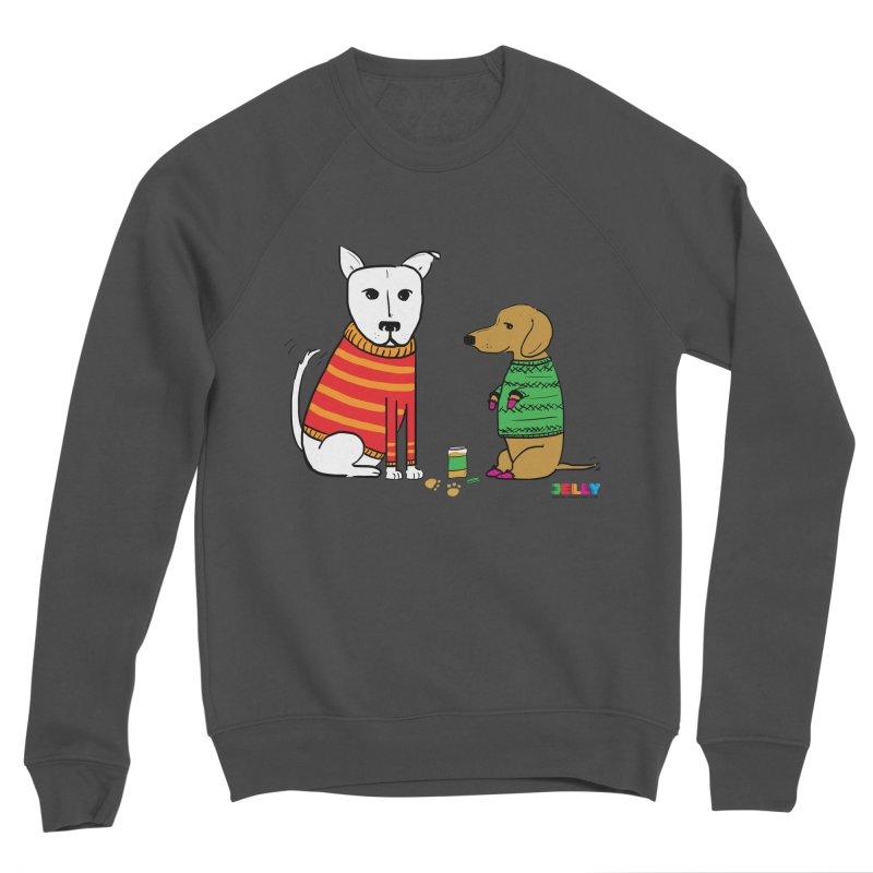 Pampered Pups Women's Sponge Fleece Sweatshirt by Jelly Marketing & PR