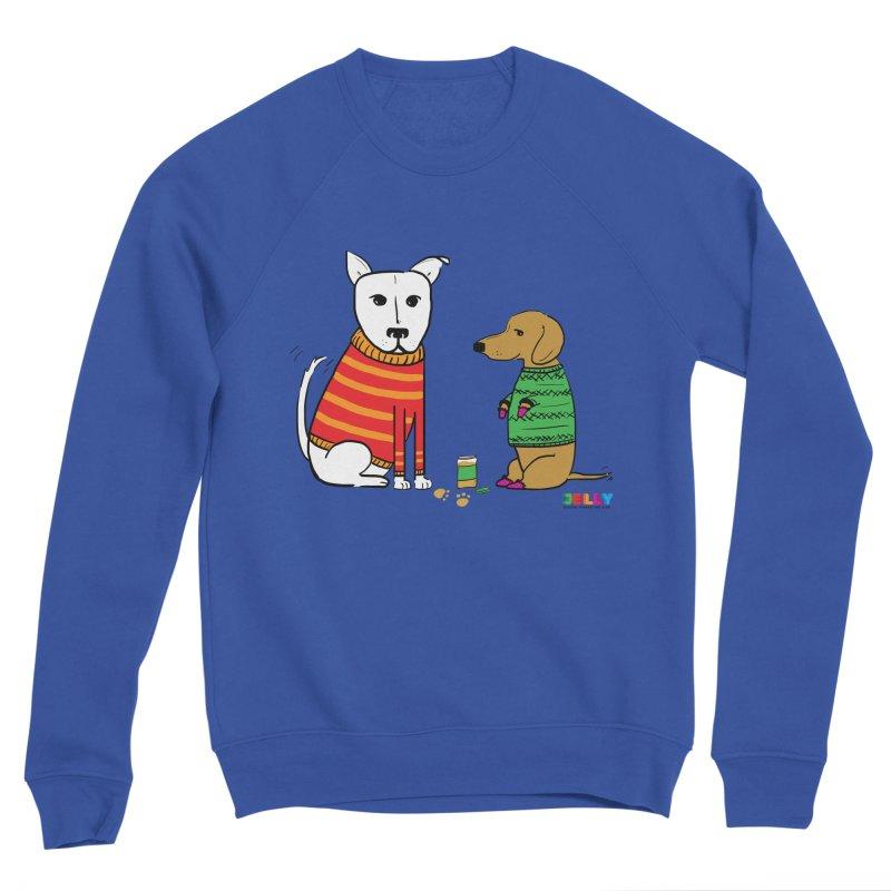 Pampered Pups Men's Sweatshirt by Jelly Marketing & PR