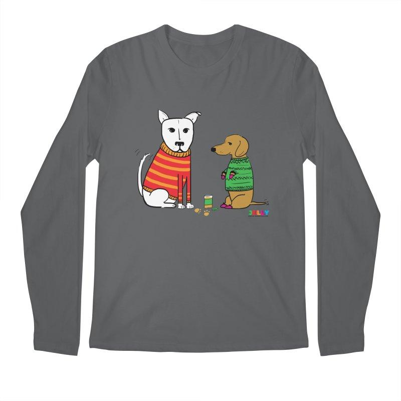 Pampered Pups Men's Longsleeve T-Shirt by Jelly Marketing & PR