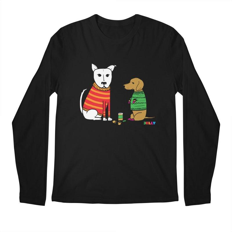 Pampered Pups Men's Regular Longsleeve T-Shirt by Jelly Marketing & PR