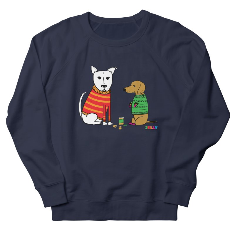 Pampered Pups Men's French Terry Sweatshirt by Jelly Marketing & PR