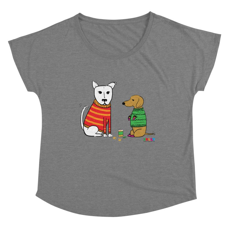 Pampered Pups Women's Scoop Neck by Jelly Marketing & PR