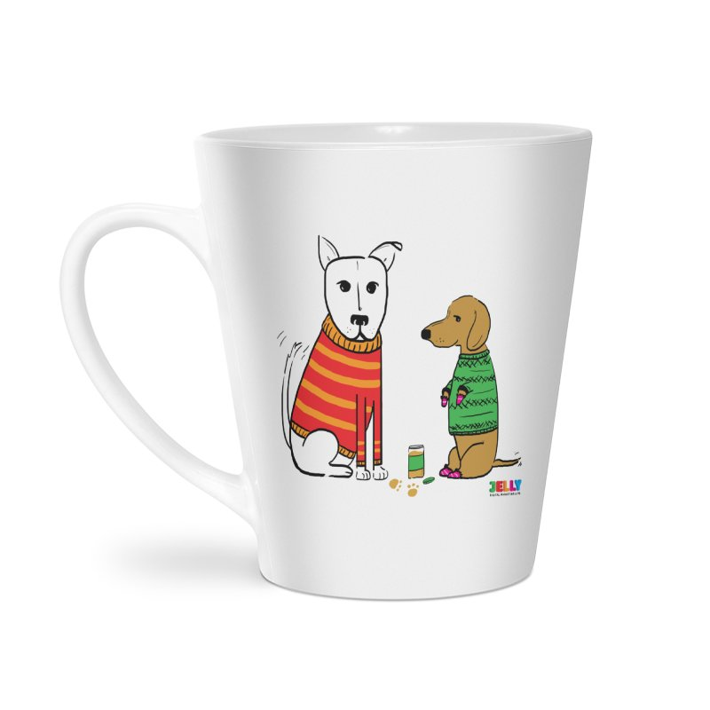 Pampered Pups Accessories Latte Mug by Jelly Marketing & PR